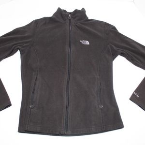 Girls The North Face TKA 100 Jacket zip up Fleece